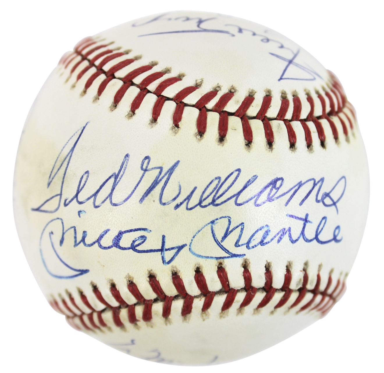 500 Home Run Club (11) Williams, Mantle, Mays Signed Onl Baseball Bas #a11550