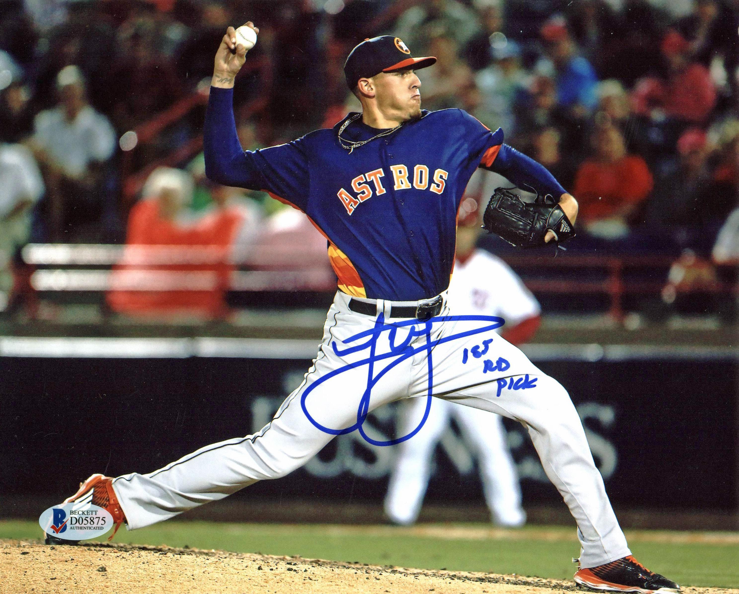 Mark Loretta autographed 8x10 Photo (Houston Astros)