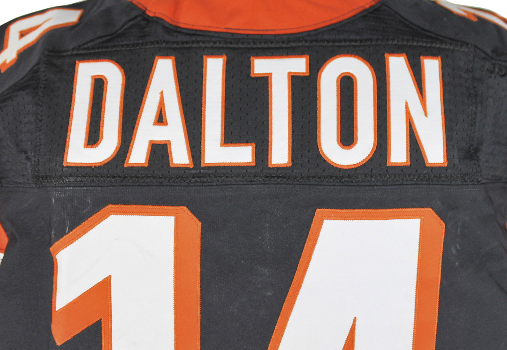 andy dalton game worn jersey