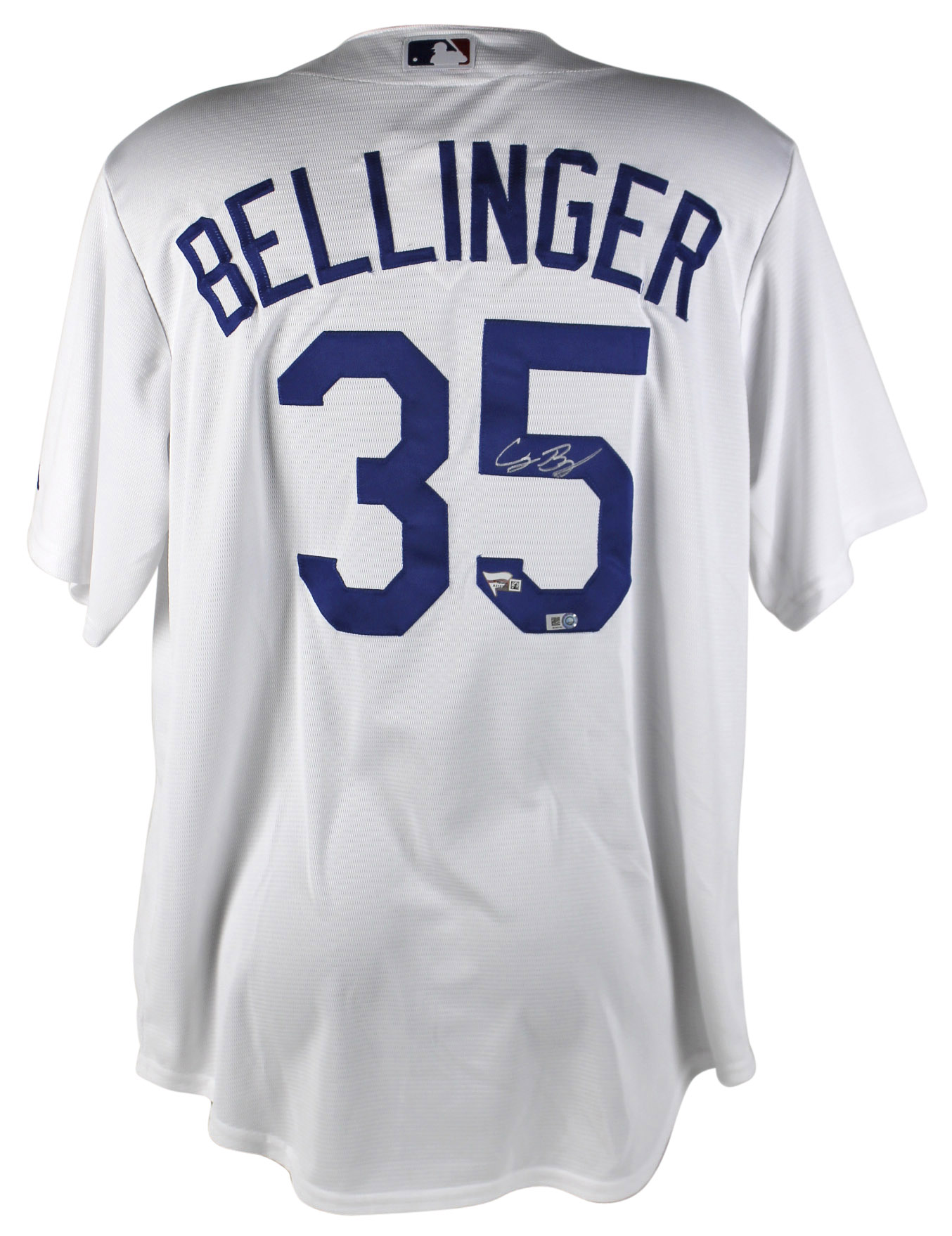 Details about Dodgers Cody Bellinger Signed White Majestic Coolbase Jersey  MLB   Fanatics 50c011f452f