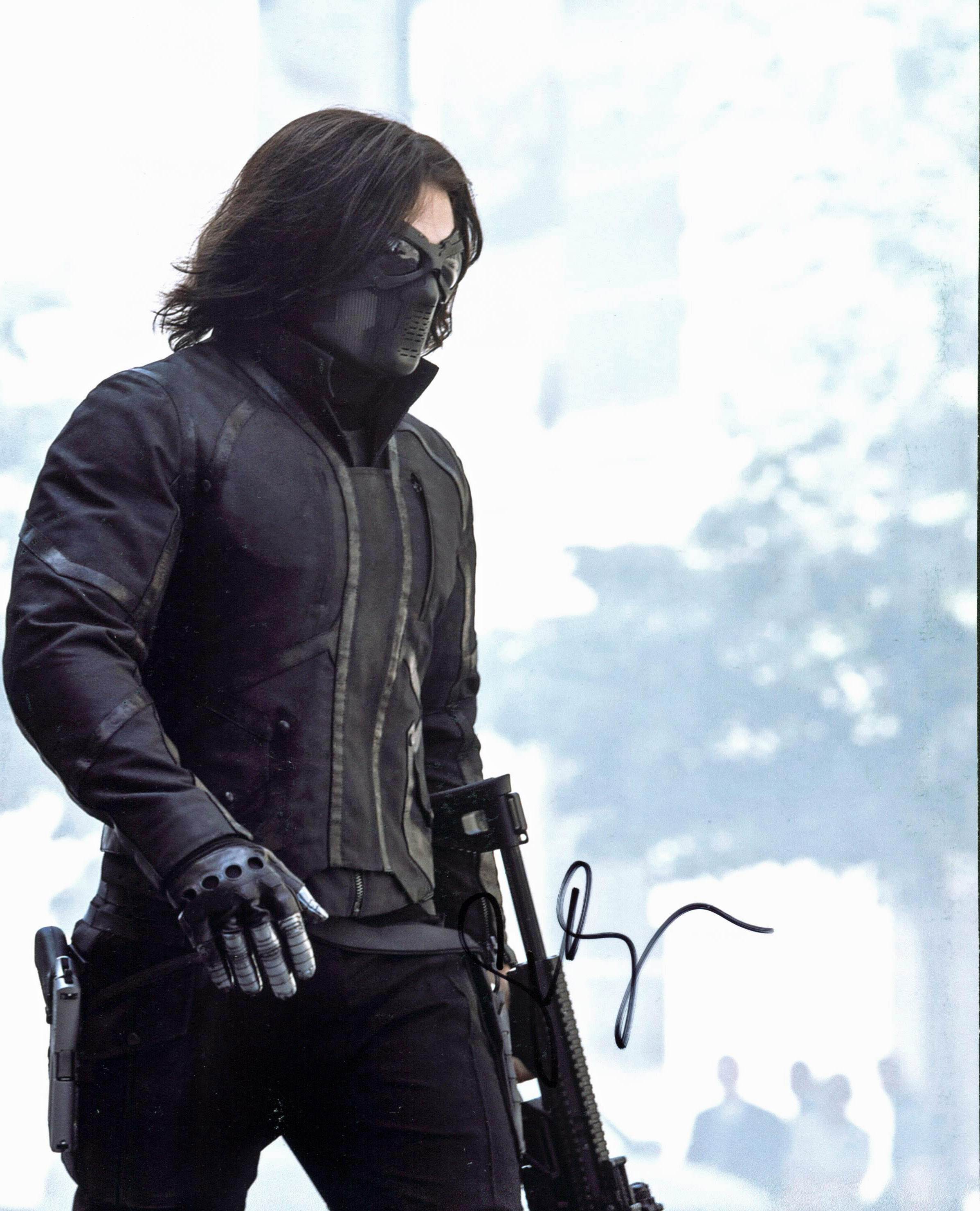 Sebastian Stan Captain America The Winter Soldier Signed 8x10 Photo BAS #C63728
