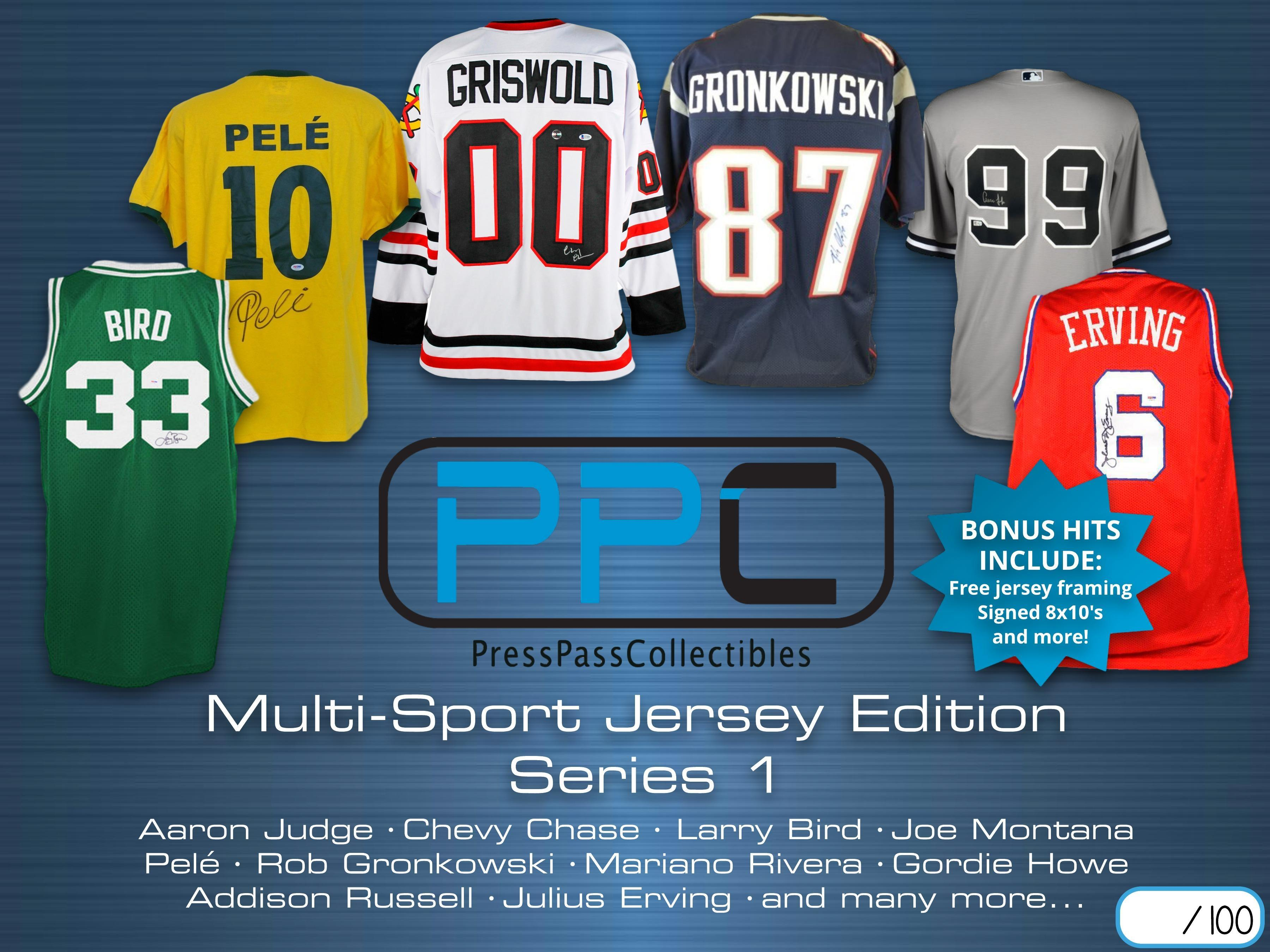 f6da14b37  189.99 - Mystery Box Autographed Multi Sport Jersey Edition Series ...