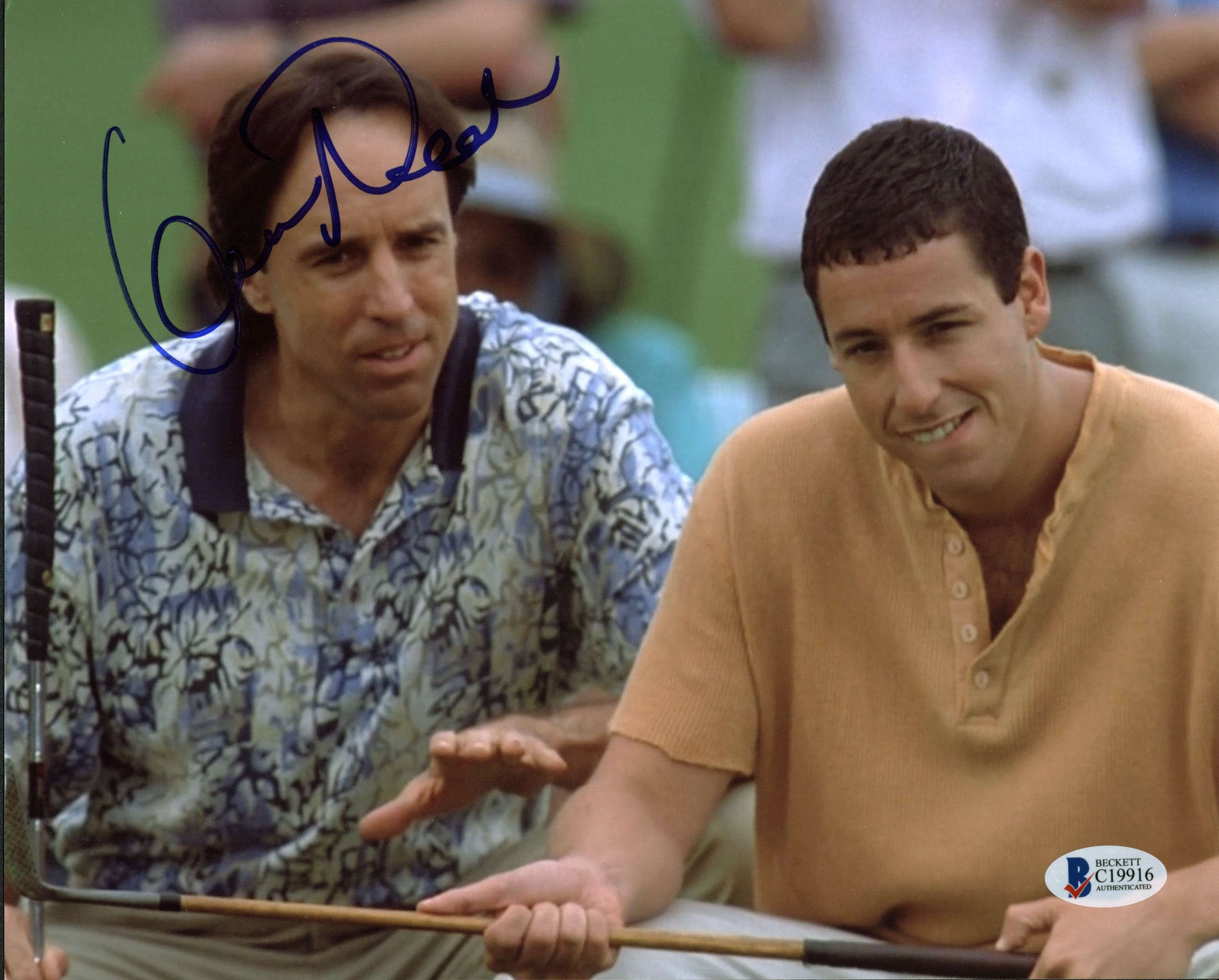 ASandler8x10-7 - Adam Sandler Signed - Autographed Happy Gilmore 8x10 inch Photo