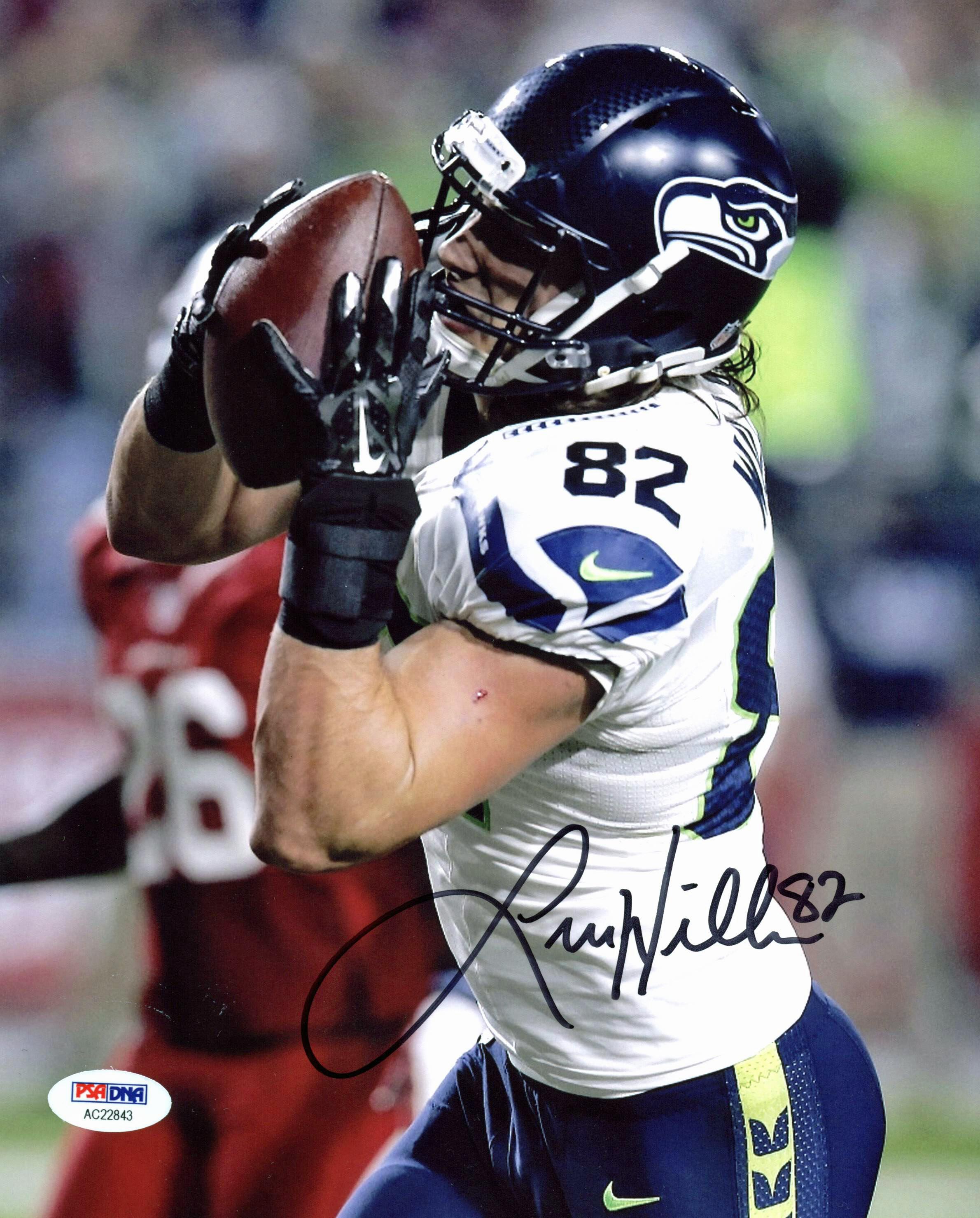 77d4614794d $39.99 - Seahawks Luke Wilson Authentic Signed 8x10 Photo Autographed PSA/DNA  #AC22843