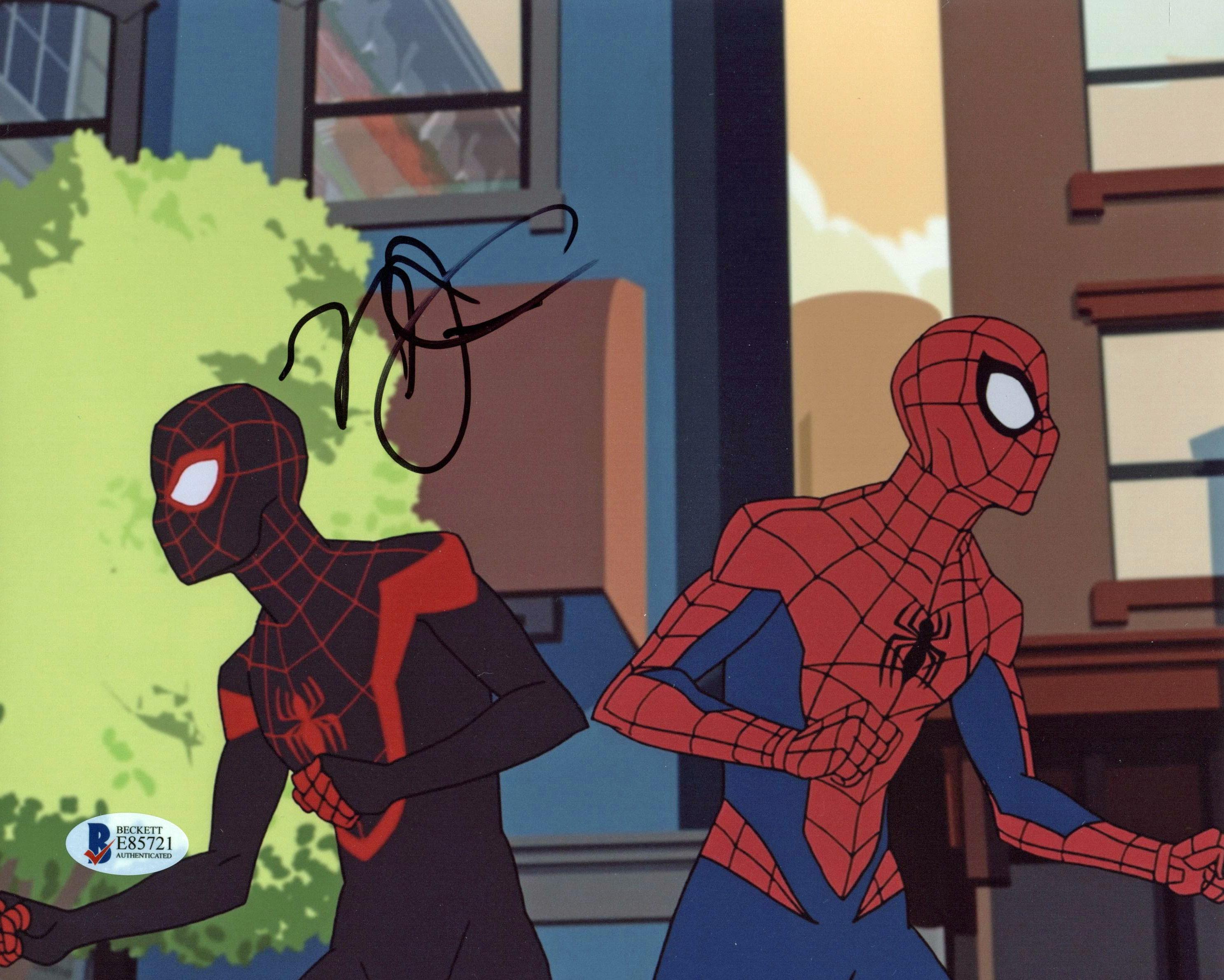 Stan Lee Autographed & Framed 8x10 Handdrawn Spiderman Sketch VIP-W704535