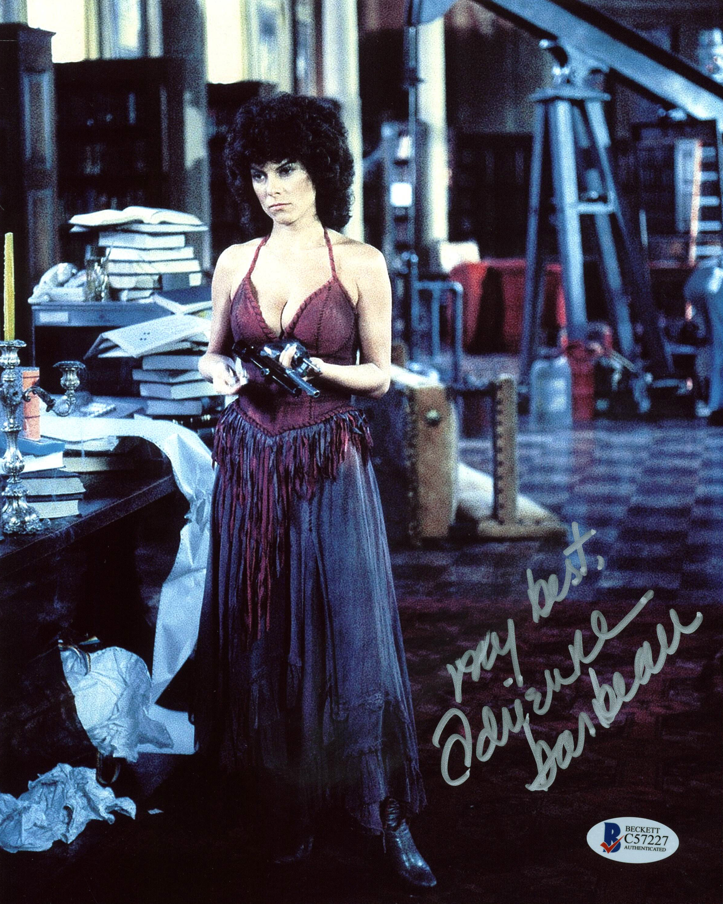 Adrienne Barbeau Escape From New York Authentic Signed