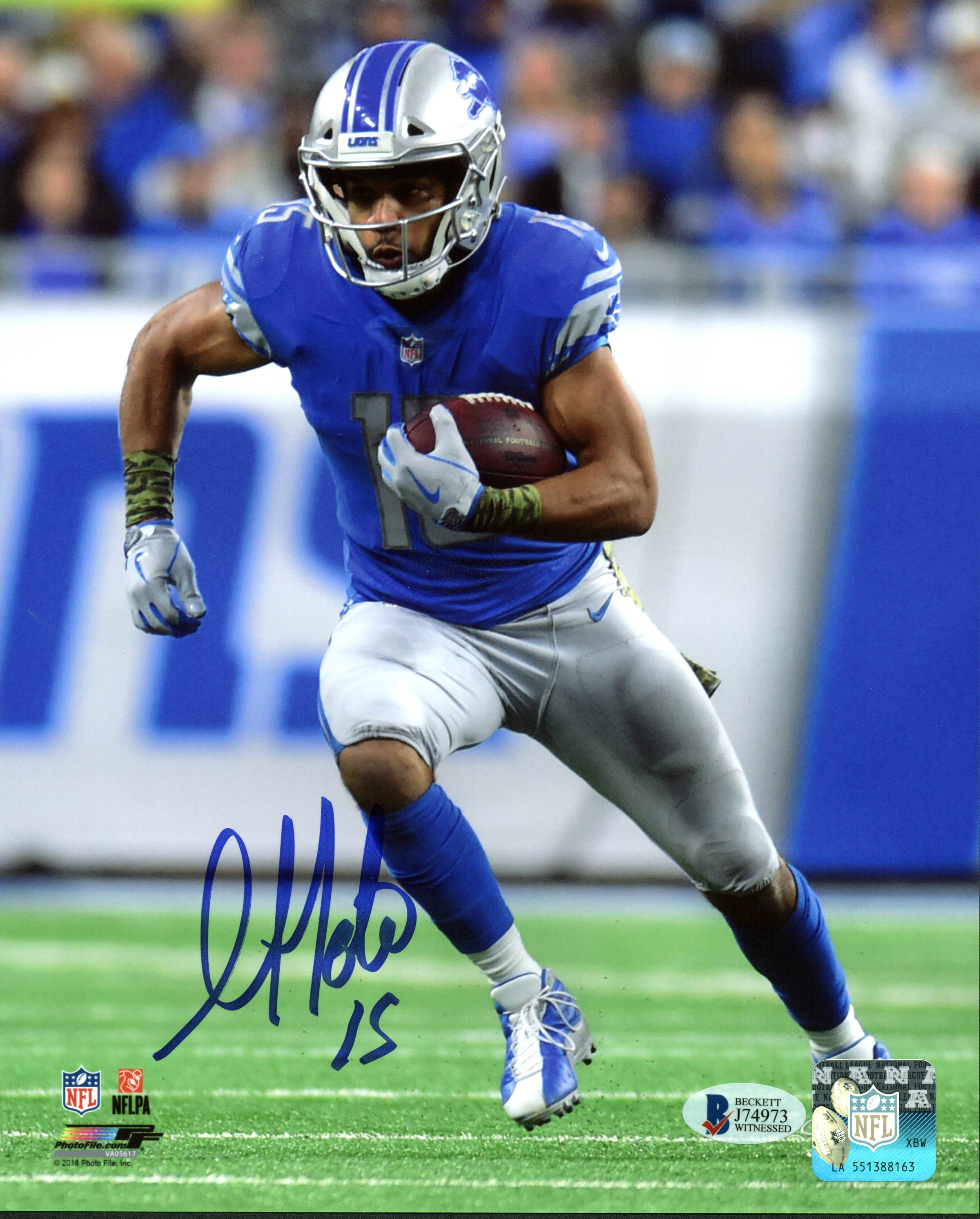 5d70594f Details about Lions Golden Tate Authentic Signed 8x10 Photo Autographed BAS  Witnessed 2
