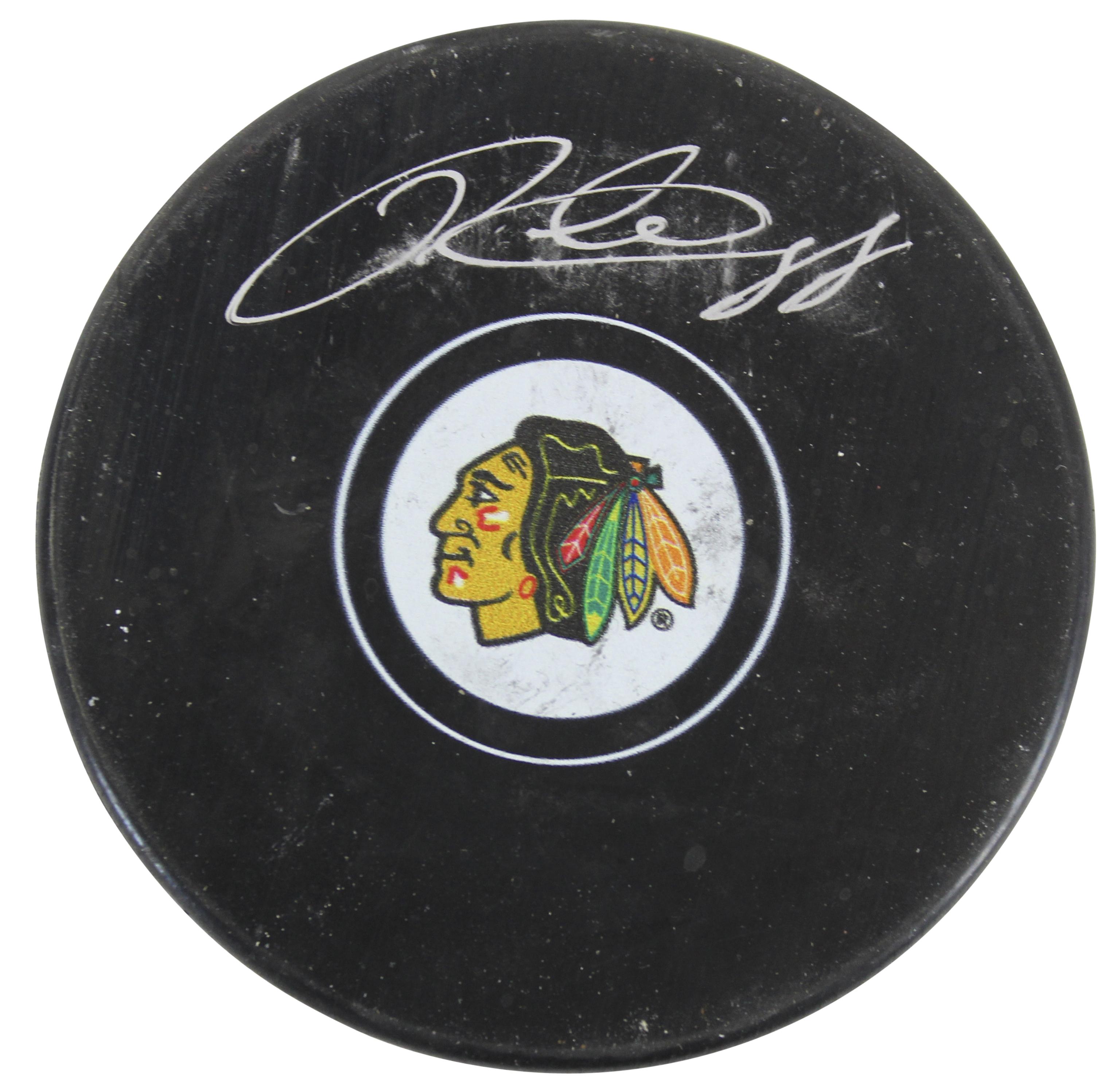 Blackhawks Patrick Kane Authentic Signed Hockey Puck Fanatics COA #A310288