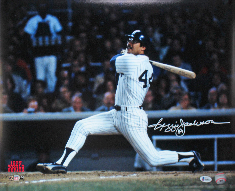 Yankees Reggie Jackson Authentic Signed ...
