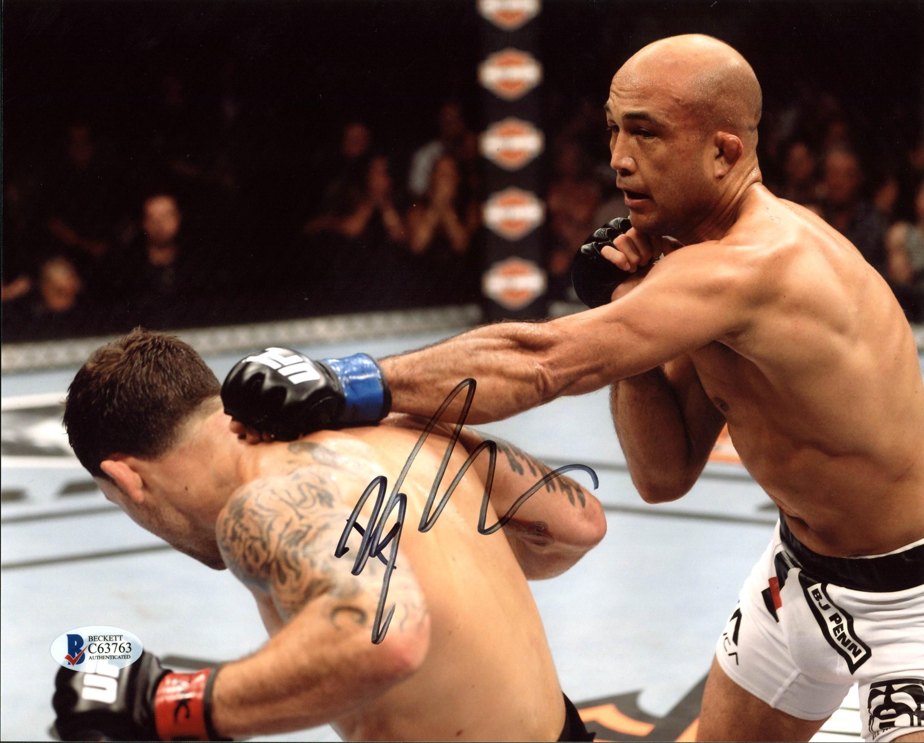 Conor McGregor UFC Authentic Signed 8x10 Photo Autographed BAS #D17662